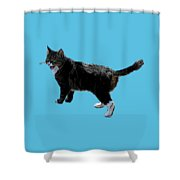 Cat Says Shower Curtain