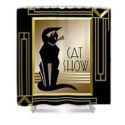 Cat Show - Frame 5 Shower Curtain