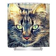 Cat Simba Shower Curtain