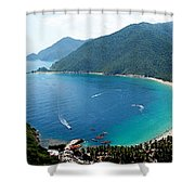Cata Bay Shower Curtain