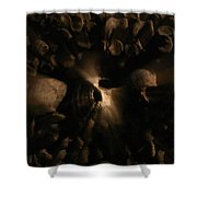 Catacombs - Paria France 3 Shower Curtain