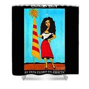 Catalan Lady / La Ramona Shower Curtain