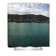 Catalina Bay Shower Curtain