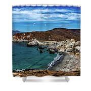 Catalina Island Shower Curtain
