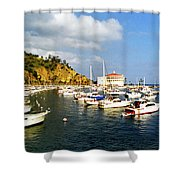 Catalina Kodachrome Shower Curtain
