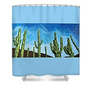 Catalina State Park Shower Curtain