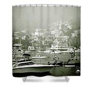 Catalina Island Shower Curtain