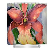 Catalya Orchid Shower Curtain