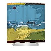 Catamaran Shower Curtain