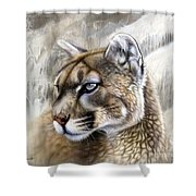 Catamount Shower Curtain