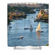 Cataracts Of The Nile Shower Curtain