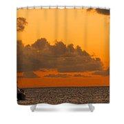 Catarman At Sunset Shower Curtain
