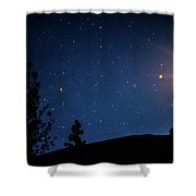 Catch Me If You Can.... 3 Shower Curtain by Shiela Kowing