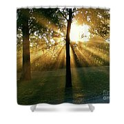 Catch Some Rays Shower Curtain