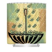 Catch The Cash Shower Curtain