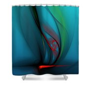 Catch The Wind Shower Curtain