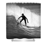 Catching A Wave Shower Curtain