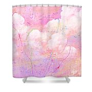 Catching Clouds Shower Curtain