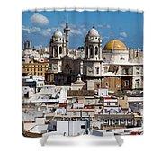 Catedral De Cadiz Shower Curtain