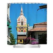 Catedral De Cartagena Shower Curtain
