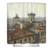 Catedral De Santander Shower Curtain