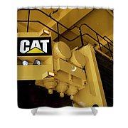 Caterpillar 797f Mining Truck 02 Shower Curtain
