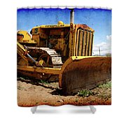 Caterpillar Twenty Two Shower Curtain