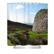 Cathair Na Steige  Shower Curtain