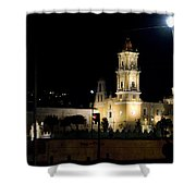 Iglesia Del Carmen Shower Curtain