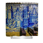 Cathedral Azulejos Shower Curtain