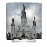 Cathedral Church Shower Curtain