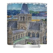 Cathedral Closeup Shower Curtain