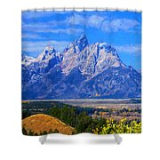 Cathedral Group Impressions Shower Curtain