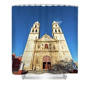 Cathedral In Campeche Shower Curtain