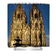 Cathedral In Cologne  Shower Curtain