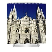 Cathedral In El Salvador Shower Curtain