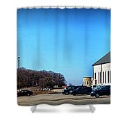 Cathedral In The Country Shower Curtain