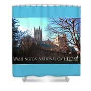 Cathedral In The Fall Travel Shower Curtain