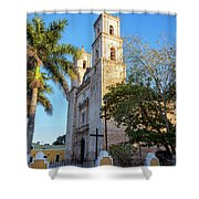Cathedral In Valladolid Shower Curtain