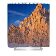 Cathedral Mounds Shower Curtain