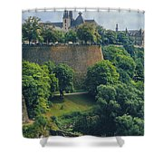 Cathedral Notre-dame Shower Curtain