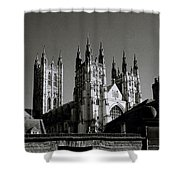 Cathedral Of Canterbury Shower Curtain