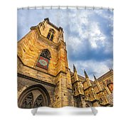 Cathedral Of Colmar, Alsace,france Shower Curtain