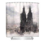 Cathedral Of Cologne Shower Curtain