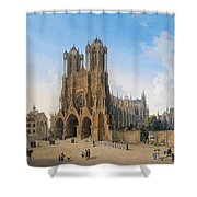 Cathedral Of Notre-dame At Reims Shower Curtain