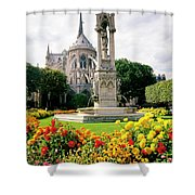 Cathedral Of Notre Dame Shower Curtain