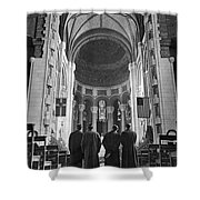 Cathedral Of St. John In Nyc Shower Curtain