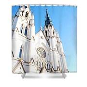 Cathedral Of St. John The Baptist Shower Curtain