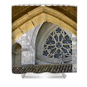 Cathedral On The Saint James Path  Shower Curtain