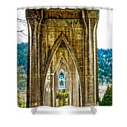 Cathedral Park Shower Curtain